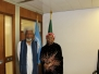 Professor Wole Soyinka's Visit to the Nigerian Delegation